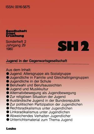 Jugend in der Gegenwartsgesellschaft af Bernhard Schafers