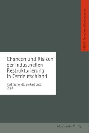 Chancen und Risiken der industriellen Restrukturierung in Ostdeutschland af Burkart Lutz, Rudi Schmidt