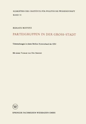 Parteigruppen in der Grostadt