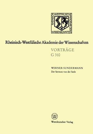 Der Sermon von der Seele af Werner Sundermann
