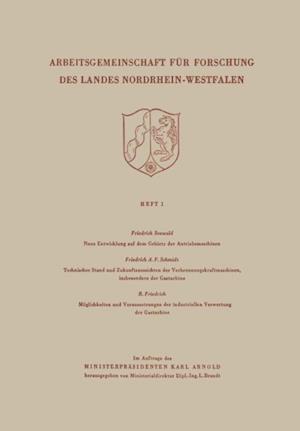 Arbeitsgemeinschaft fur Forschung des Landes Nordrhein-Wesfalen af Friedrich Seewald
