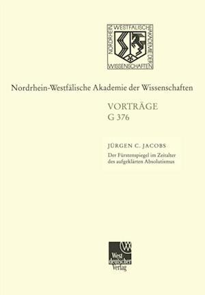 Der Furstenspiegel im Zeitalter des aufgeklarten Absolutismus Zu Wielands Goldenem Spiegel' af Jurgen Jacobs