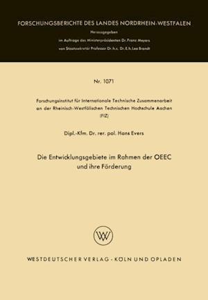 Die Entwicklungsgebiete im Rahmen der OEEC und ihre Forderung af Hans Evers