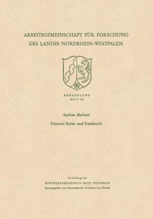 Edmund Burke und Frankreich af Stephan Skalweit