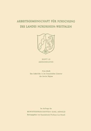 Das Lacherliche in der franzosischen Literatur des Ancien Regime