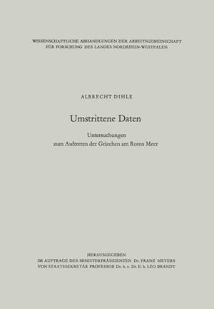 Umstrittene Daten af Albrecht Dihle