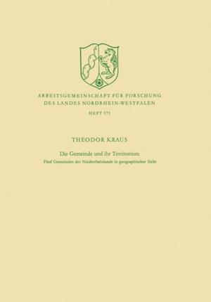 Die Gemeinde und ihr Territorium af Theodor Kraus