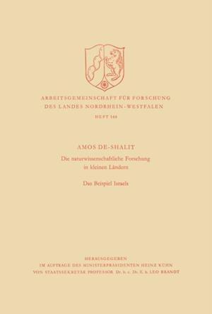 Die naturwissenschaftliche Forschung in kleinen Landern af Amos de-Shalit