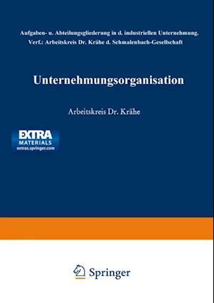 Unternehmungsorganisation af Worringer Ulrich