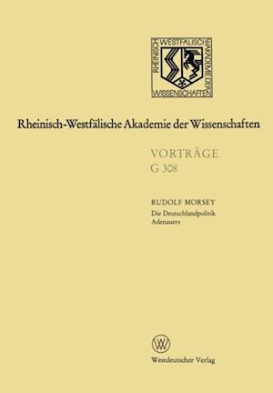 Die Deutschlandpolitik Adenauers af Rudolf Morsey