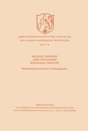 Nichtthermische kosmische Strahlungsquellen af Michael Grewing