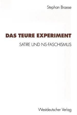 Das teure Experiment af Stephan Braese