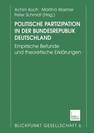 Politische Partizipation in der Bundesrepublik Deutschland