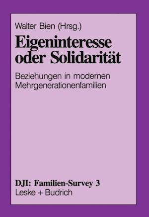 Eigeninteresse oder Solidaritat