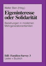 Eigeninteresse Oder Solidarität