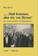 """.."""".Muß Kommen, Aber Nix Von Herzen"""""""