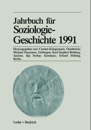 Jahrbuch fur Soziologiegeschichte 1991