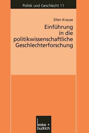 Einfuhrung in die politikwissenschaftliche Geschlechterforschung af Ellen Krause