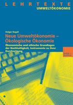 Okologische Okonomie