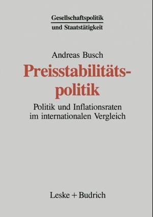 Preisstabilitatspolitik af Andreas Busch