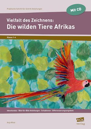 Vielfalt des Zeichnens: Die wilden Tiere Afrikas
