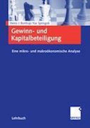 Bog, paperback Gewinn- und Kapitalbeteiligung af Heinz-J. Bontrup