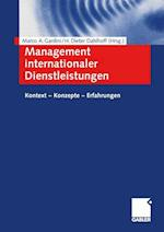 Management Internationaler Dienstleistungen
