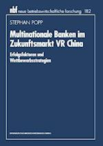 Multinationale Banken Im Zukunftsmarkt VR China af Stephan Popp