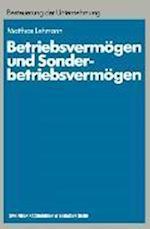 Betriebsvermogen Und Sonderbetriebsvermogen (Schriftenreihe Besteuerung Der Unternehmung, nr. 13)