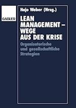 Lean Management - Wege aus der Krise af Hajo Weber