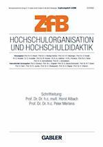Hochschulorganisation Und Hochschuldidaktik