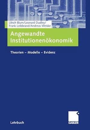 Angewandte Institutionenokonomik