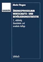 Ubungsprogramm Wirtschafts- und Bevolkerungsstatistik af Heiner Abels