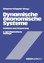 Dynamische Okonomische Systeme af Siegmar Stoppler