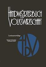 Handworterbuch Der Volkswirtschaft af Harald Albuschkat, Hermann Adam, Reinhard Blasig