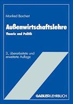 Aussenwirtschaftslehre af Manfred Borchert