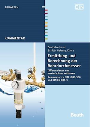 Ermittlung und Berechnung der Rohrdurchmesser