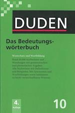 Duden (10) - Das Bedeutungswörterbuch (HB) - 4. Auflage