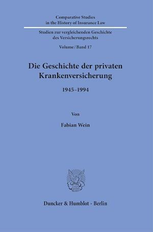 Die Geschichte der privaten Krankenversicherung.