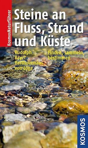 Steine an Fluss, Strand und Küste