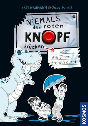 Niemals den roten Knopf drücken, 3, oder die Dinos drehen durch!