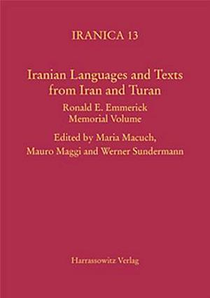 Iranian Languages and Texts from Iran and Turan