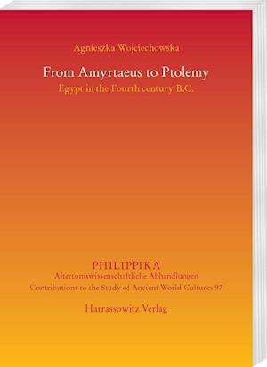 Bog, paperback From Amyrtaeus to Ptolemy af Agnieszka Wojciechowska