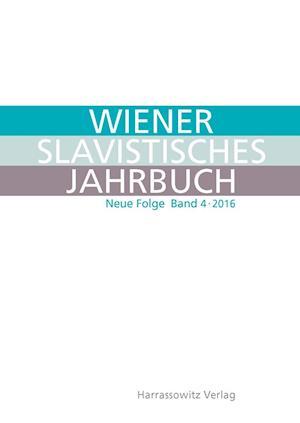 Bog, paperback Wiener Slavistisches Jahrbuch 4 (2016)