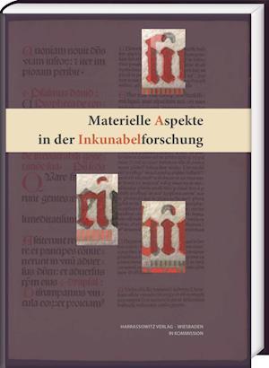 Bog, hardback Materielle Aspekte in Der Inkunabelforschung af Christoph Reske