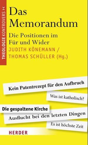 Das Memorandum af Judith, Schueller Koenemann Thomas