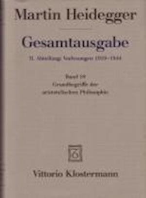 Bog, hardback Martin Heidegger, Gesamtausgabe