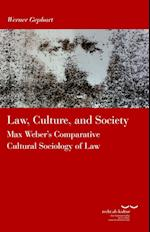 Law, Culture and Society af Werner Gephart