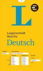 Langenscheidt Verb-fix Deutsch / German Verbs at a Glance