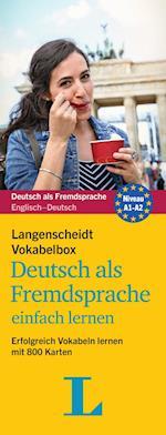 Langenscheidt Vokabelbox Deutsch Als Fremdsprache einfach lernen (Langenscheidt Vokabelbox Niveau A1 a2)